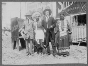 Buffalo Bill's Wild West Show, 1914.