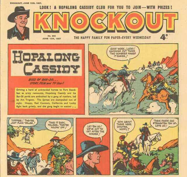 "Box 156, folder – ""Knockout Comics – entire magazine, 1957-1959"""