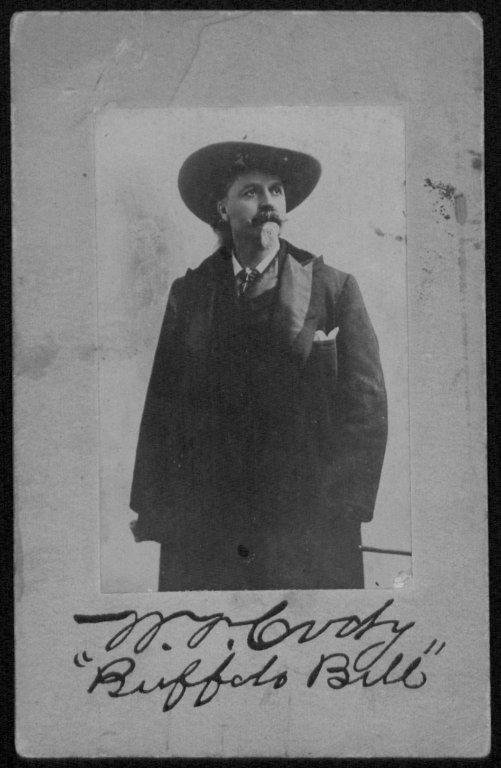 Buffalo Bill Collection, #264, Box 4.  UW American Heritage Center.