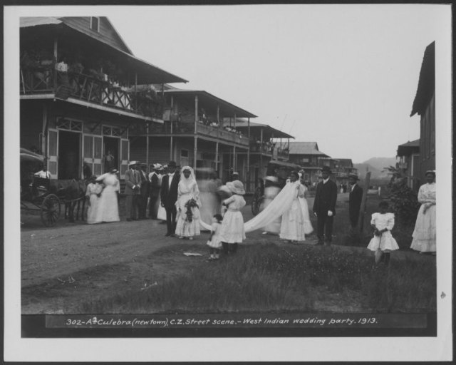 McIlhenny's photos aren't all work and no play! Here is a photograph of a wedding, shedding additional light on the social life and customs of the Panama Canal Zone. Eleanor McIlhenny papers , #7704, Box 3. University of Wyoming, American Heritage Center.