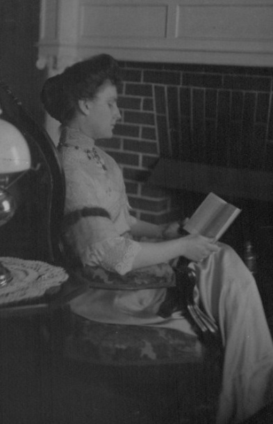 Nellie Tayloe Ross in Cheyenne home.jpg