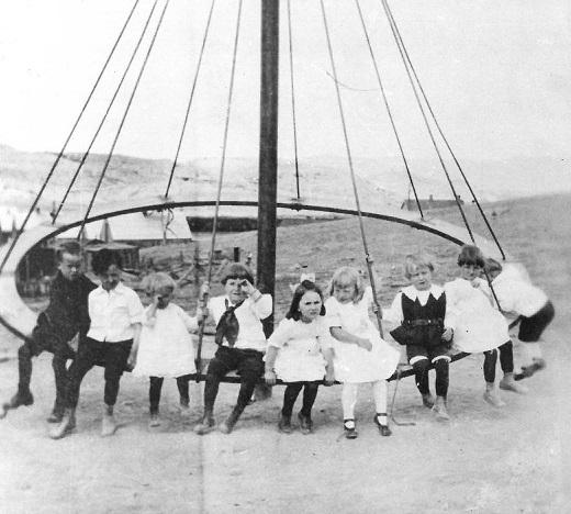 School Playground Gebo about 1921