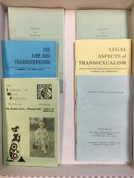 Pamphlets and zine on trans issues in the 1970s