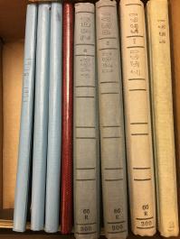 Shannon's journals beginning in 1954