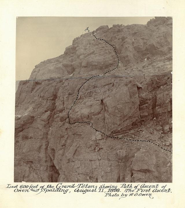 Teton route